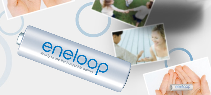 eneloop ist ein Sanyo Produkt